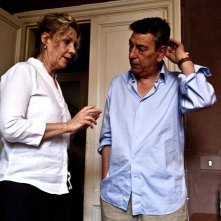 Elisabetta Piccolomini e Gianni Di Gregorio in una scena del film Gianni e le donne