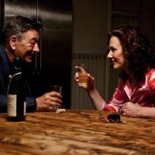 Gianni Di Gregorio con Valeria Cavalli in una scena del film Gianni e le donne