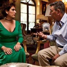 Gianni Di Gregorio in una scena del film Gianni e le donne con Gabriella Sborgi