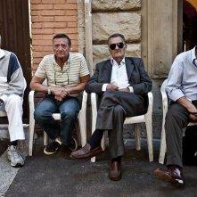 Gianni Di Gregorio in una sequenza del film Gianni e le donne