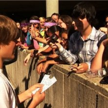 Justin Bieber acclamato dai fan in Justin Bieber: Never Say Never