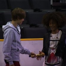 Justin Bieber con Jaden Smith in Justin Bieber: Never Say Never