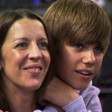 Justin Bieber in un'immagine tratta da Justin Bieber: Never Say Never