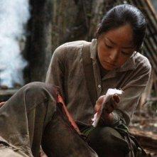 Mao Inoue in una immagine dal film Oba: The Last Samurai