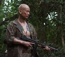 Toshiaki Karasawa in una immagine dal film Oba: The Last Samurai