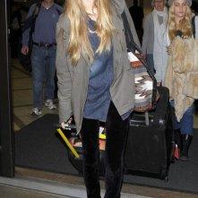 Whitney Port arriva all'aeroporto di Los Angeles
