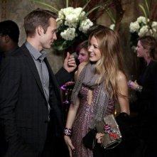 Ben (David Call) e Serena (Blake Lively) nell'episodio Panic Roommate di Gossip Girl
