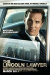 Nuovo poster USA per The Lincoln Lawyer
