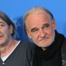 Bela Tarr in conferenza stampa a Berlino
