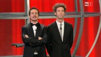 Luca e Paolo in un'immagine di Sanremo 2011