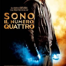 Poster italiano per il film I Am Number Four