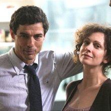 Alessandro Gassman e Ksenia Rappoport in una scena de Il padre e lo straniero