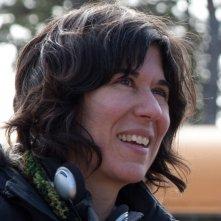 La regista Debra Granik sul set del suo Winter's Bone