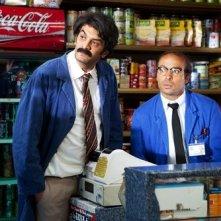 Eric Judor e Ramzy Bedia in una scena del film Halal police d'état