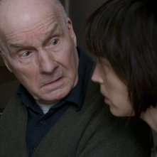 Florence Loiret-Caille con Michel Bouquet in una scena del film La petite chambre