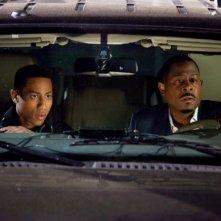 Martin Lawrence e Brandon T. Jackson in divisa per la commedia Big Mommas: Like Father, Like Son