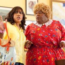 Martin Lawrence e Brandon T. Jackson nella commedia Big Mommas: Like Father, Like Son