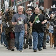 Nick Frost  e Simon Pegg tra i cosplayer nella commedia Paul