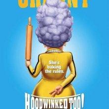 Character poster per Hoodwinked 2: Hood vs. Evil - Granny