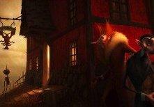 Il Gatto e la Volpe nella pellicola di animazione diretta da Gris Grimly