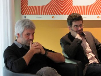 Il produttore Domenico Procacci, insieme al regista Joshua Marston presenta il dramma The Forgiveness of Blood alla Berlinale 2011