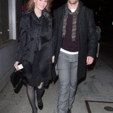 James Van Der Beek e sua moglie Kimberly Brook arrivano al Hyde Lounge in West Hollywood