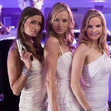 The Cat Squad (Mercedes Masöhn, Yvonne Strahovski e Mircea Monroe) nell'episodio Chuck Versus the Cat Squad