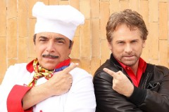 Giulio Scarpati e Nino Frassica, cugini d'Italia in tv