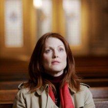 Un'immagine di Julianne Moore dal film Shelter