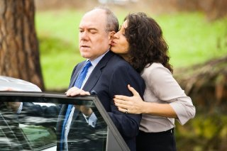 Carlo Verdone con Donatella Finocchiaro in una immagine del film Manuale d'Amore 3