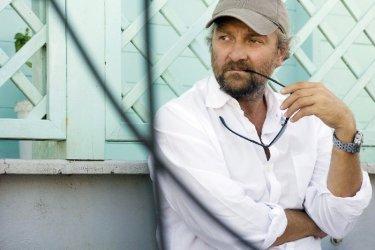 Il regista Giovanni Veronesi sul set del film Manuale d'Amore 3