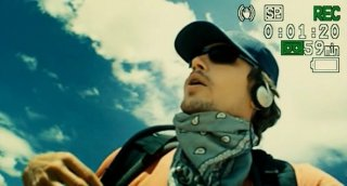James Franco in un'immagine del film 127 Hours