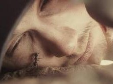 James Franco in un'immagine shockante del film 127 Hours
