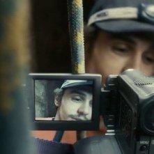 James Franco in un momento del film 127 Hours