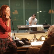 Julianne Moore con Jeffrey DeMunn nel film Shelter