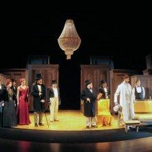 L\'AFFARISTA (Mercadet l\'affarista) Braidotti in scena durante la stagione teatrale 2011