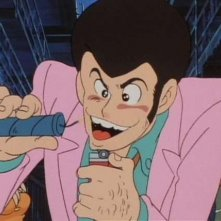 Lupin III in una scena de Il tesoro di Al Capone della serie Lupin, l\'incorreggibile Lupin