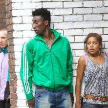 Matt Cross, Antonia Thomas e Nathan Stewart-Jarrett nella stagione 2 di Misfits