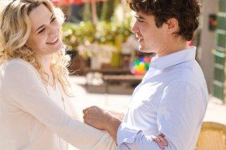 Riccardo Scamarcio e Laura Chiatti in una scena del film Manuale d'Amore 3