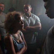 Un faccia a faccia tra Antonia Thomas e Nathan Stewart-Jarrett nella stagione 2 di Misfits