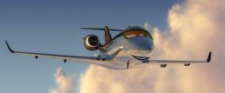 Un'immagine promo dell'aereo Siddeley, da Cars 2
