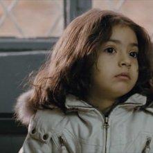 Una immagine della piccola Saba Yaghoobi dal film Shekarchi (The Hunter)