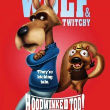 Character poster per Hoodwinked 2: Hood vs. Evil - Wolf & Twitchy