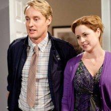 Owen Wilson e Jenna Fischer nel film Hall Pass