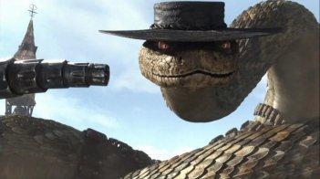 Rattlesnake Jake nel film Rango