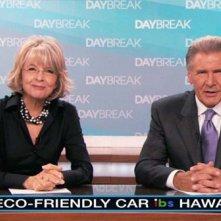 Diane Keaton in coppia con Harrison Ford nel film Morning Glory