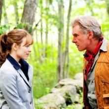 Harrison Ford con Rachel McAdams in una scena del film Morning Glory