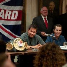 Mark Wahlberg e Christian Bale in una sequenza di The Fighter