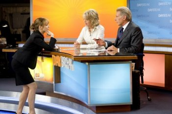 Rachel McAdams con Diane Keaton e Harrison Ford nel film Morning Glory