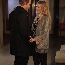 Ben (David Call) e Serena (Blake Lively) nell'episodio While You Weren't Sleeping di Gossip Girl